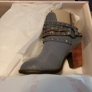 Not Rated Elly Denim Booties